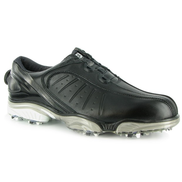 mens footjoy fj sport boa closeout golf shoes 53183 black