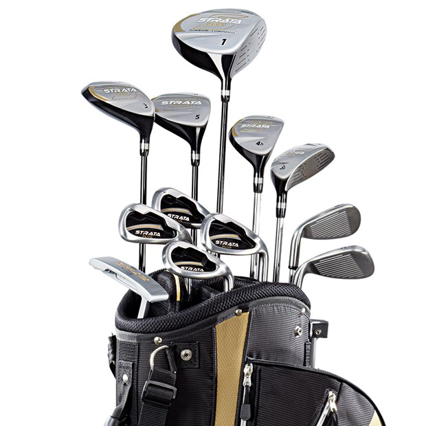 NEW CALLAWAY GOLF CLUBS STRATA PLUS 18-PIECE COMPLETE SET ... Callaway Golf Club Set