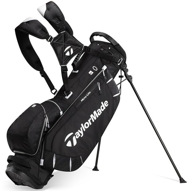 New Taylormade Micro Lite 2013 Black Stand Golf Bag Ebay