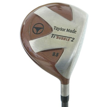 Taylor Made TITANIUM BUBBLE 2 Driver Preowned Golf Club