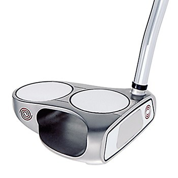Odyssey WHITE STEEL 2-BALL Putter Preowned Golf Club