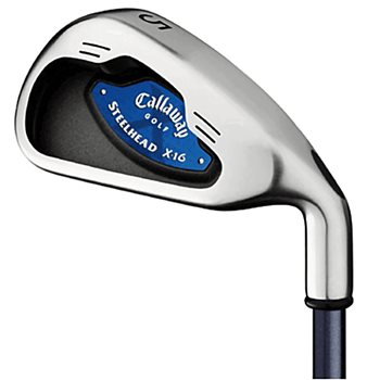 Callaway STEELHEAD X-16 Iron Set Preowned Golf Club