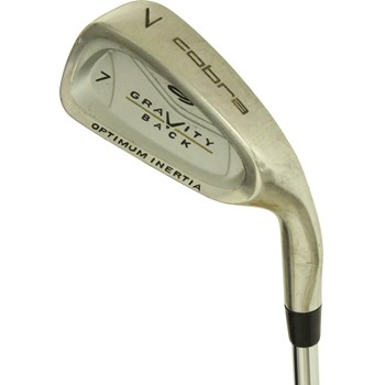 Cobra GRAVITY BACK Iron Set Preowned Golf Club