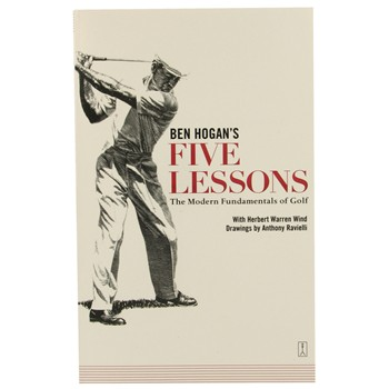 Booklegger Ben Hogan&#39;s Five Lessons Books