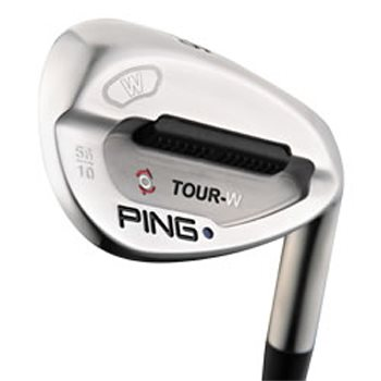 Ping Tour-W Brushed Silver Wedge Preowned Golf Club