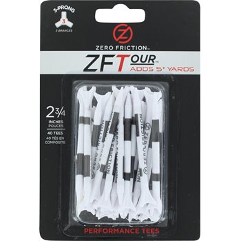 Zero Friction 3-Prong Performance 2 3/4&quot; Golf Tees Accessories