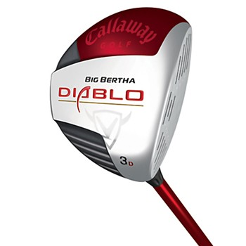 Callaway Big Bertha Diablo Draw Fairway Wood Preowned Golf Club