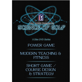 PGA TOUR Entertainment Science of Golf DVDs