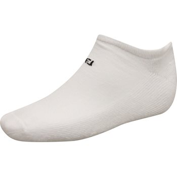 FootJoy ComfortSof Low-Cut White Socks No Show Apparel