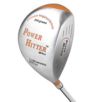 Momentus Power Hitter Driver 310 Left Hand Swing Trainers Analyzers Golf Bag