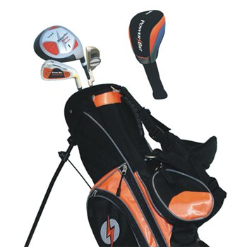 powerbilt orange series club set complete set juniors golf club at. Black Bedroom Furniture Sets. Home Design Ideas