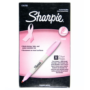 Global Tour Golf Pink Sharpie Tools Accessories