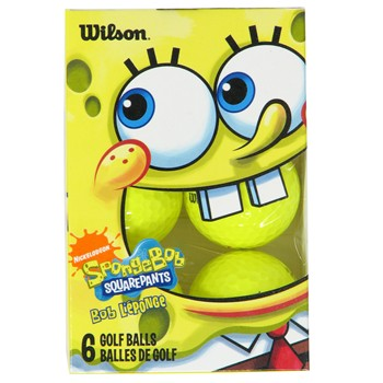 Wilson SpongeBob Golf Ball Balls