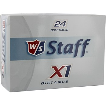 Wilson Staff X1 24-Pack Golf Ball Balls