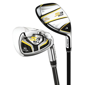 Cobra S3 Max Combo Iron Set Preowned Golf Club