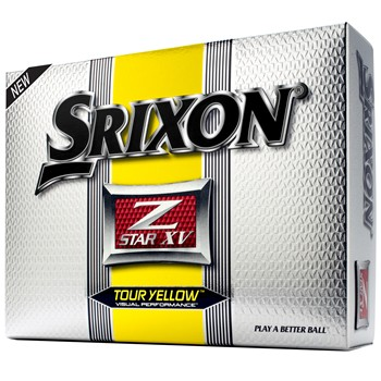 Srixon Z-Star XV Tour Yellow Golf Ball Balls