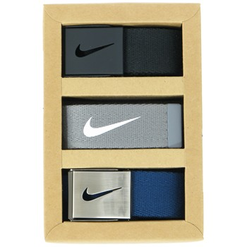 Nike 3-Pack Web Accessories Belts Apparel