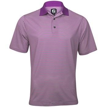 FootJoy ProDry Lisle Stripe Shirt Polo Short Sleeve Apparel
