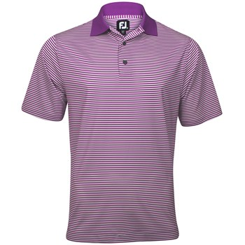 FootJoy ProDry Lisle Stripe Shirt Polo Short Sleeve Apparel