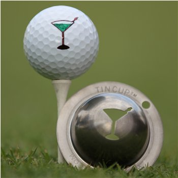 Tin Cup 5 O'Clock Somewhere Ball Marker Accessories