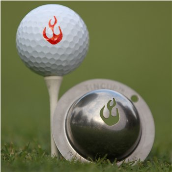 Tin Cup En Fuego Ball Marker Accessories