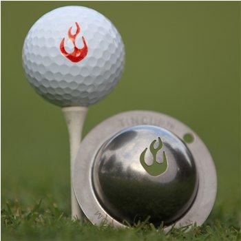 Tin Cup En Fuego Ball Marker Accessories