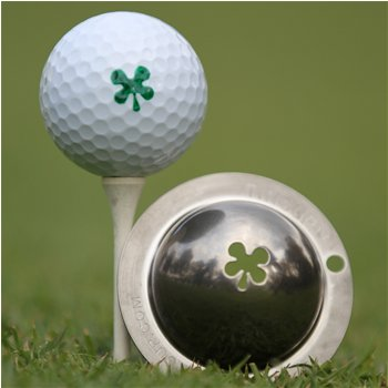 Tin Cup Luck Of The Irish Ball Marker Accessories