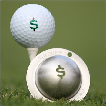 Tin Cup Nassau Ball Marker Accessories