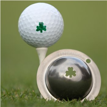 Tin Cup The Shamrock Ball Marker Accessories