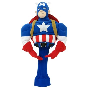Marvel Comics Captain America Headcover Accessories