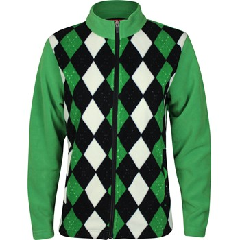 Sun Mountain Argyle Fleece Outerwear Jacket Apparel