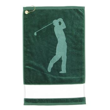 Devant Golfer Silhouette Signagraph Towel Accessories