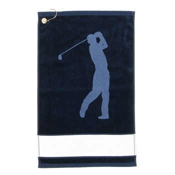 Devant Golfer Silhouette Signagraph Towel Accessories