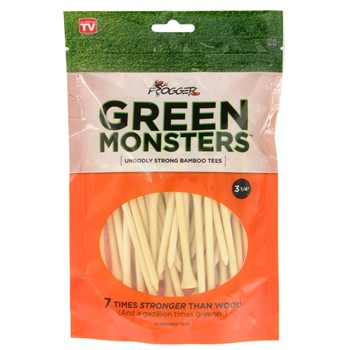 "Frogger Green Monster 3 1/4"" Golf Tees Accessories"