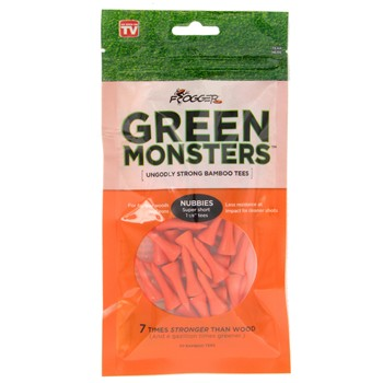 "Frogger Green Monsters Nubbies 1 1/8"" Golf Tees Accessories"
