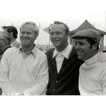 Golf Links To The Past The Big Three - 1970 Open Championship  Photo