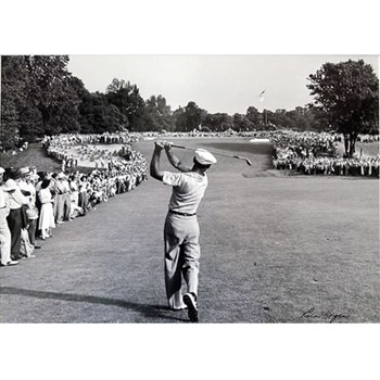 Golf Links To The Past Ben Hogan:  The One Iron Photo