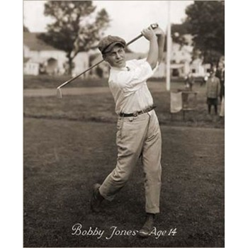 Golf Links To The Past Young Bobby Jones Photo