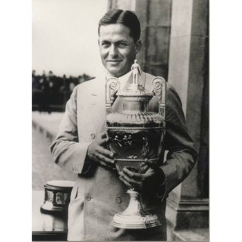 Golf Links To The Past Bobby Jones:  British Amateur Photo