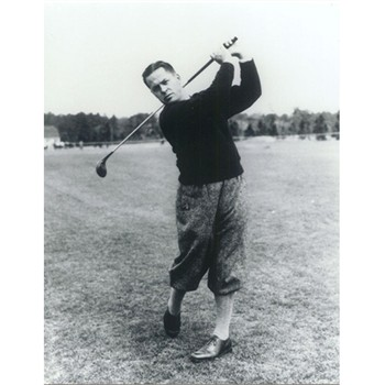 Golf Links To The Past Bobby Jones:  The Perfect Swing Photo