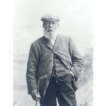Golf Links To The Past Old Tom Morris:  Keeper of the Greens Photo