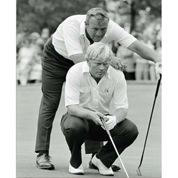 Golf Links To The Past Nicklaus & Palmer:  1971 Ryder Cup Photo