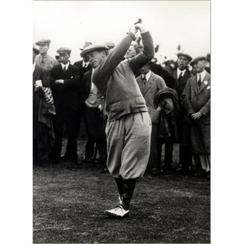 Golf Links To The Past Bobby Jones:  The Perfect Round Photo
