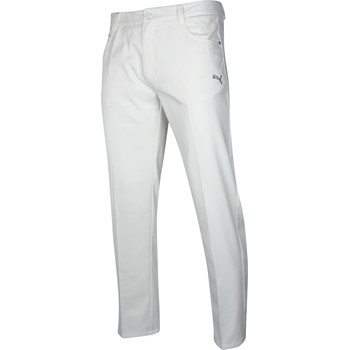 Puma Golf Solid 5 Pocket Tech Pants Flat Front Apparel