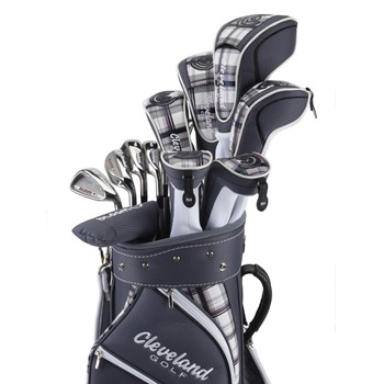 Cleveland Bloom Berry Plaid Club Set Golf Club