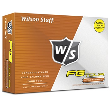 Wilson Staff FG Tour Yellow Golf Ball Balls