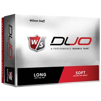 Wilson Staff Duo Golf Ball Balls