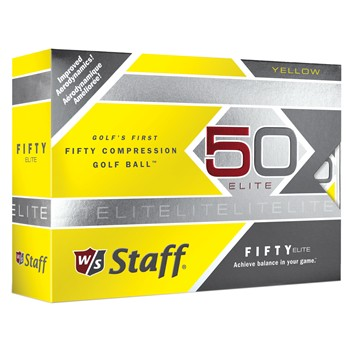 Wilson Fifty Elite Yellow Golf Ball Balls
