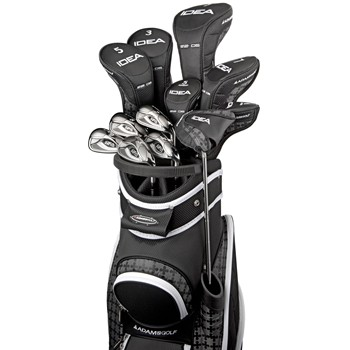 Adams Idea a12OS 13-Piece Integrated Onyx Club Set Preowned Golf Club