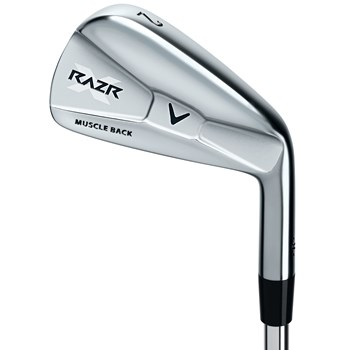 Callaway RAZR X Muscleback Iron Set Preowned Golf Club